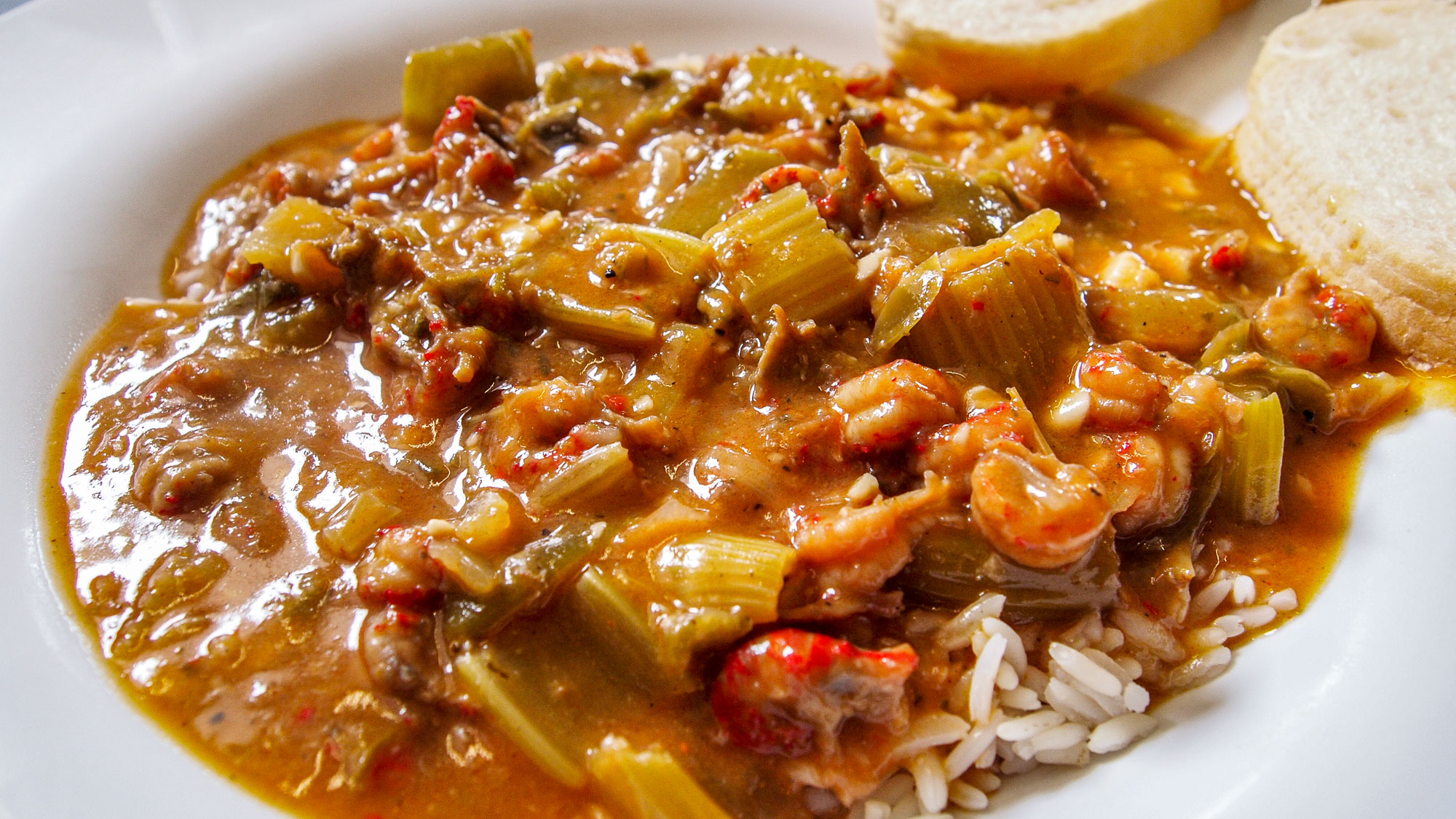 Etouffée in New Orleans