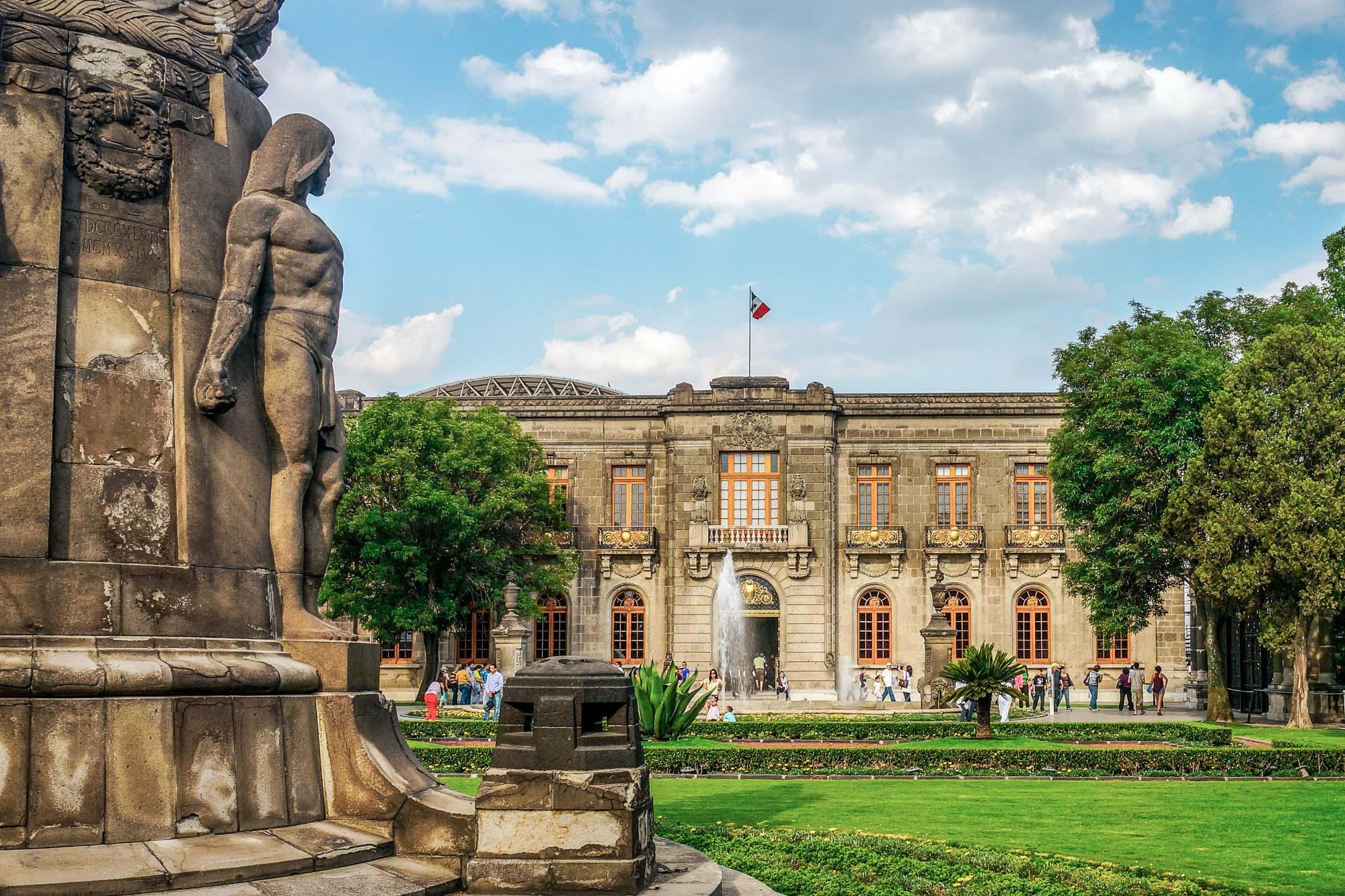 Castillo de Chapultepec in Mexico City