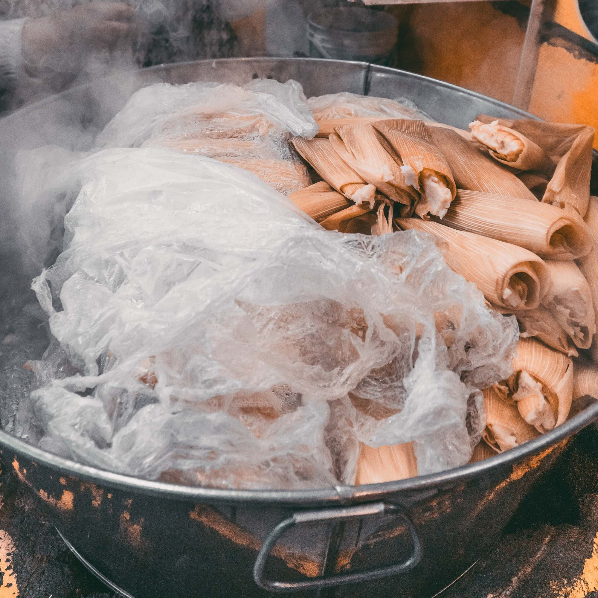 Tamales in Mexico City