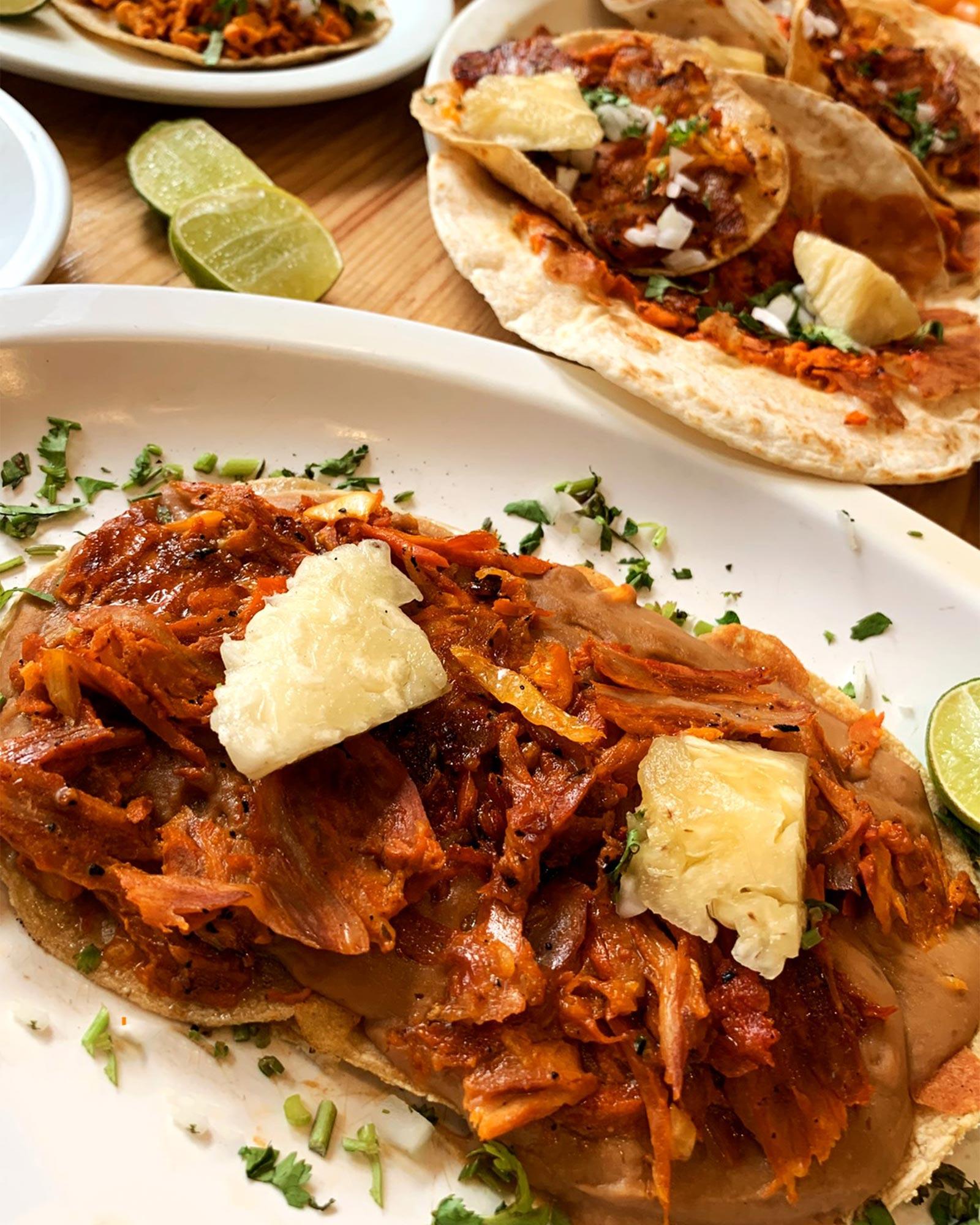 Tacos Al Pastor at El Tizoncito in Mexico City