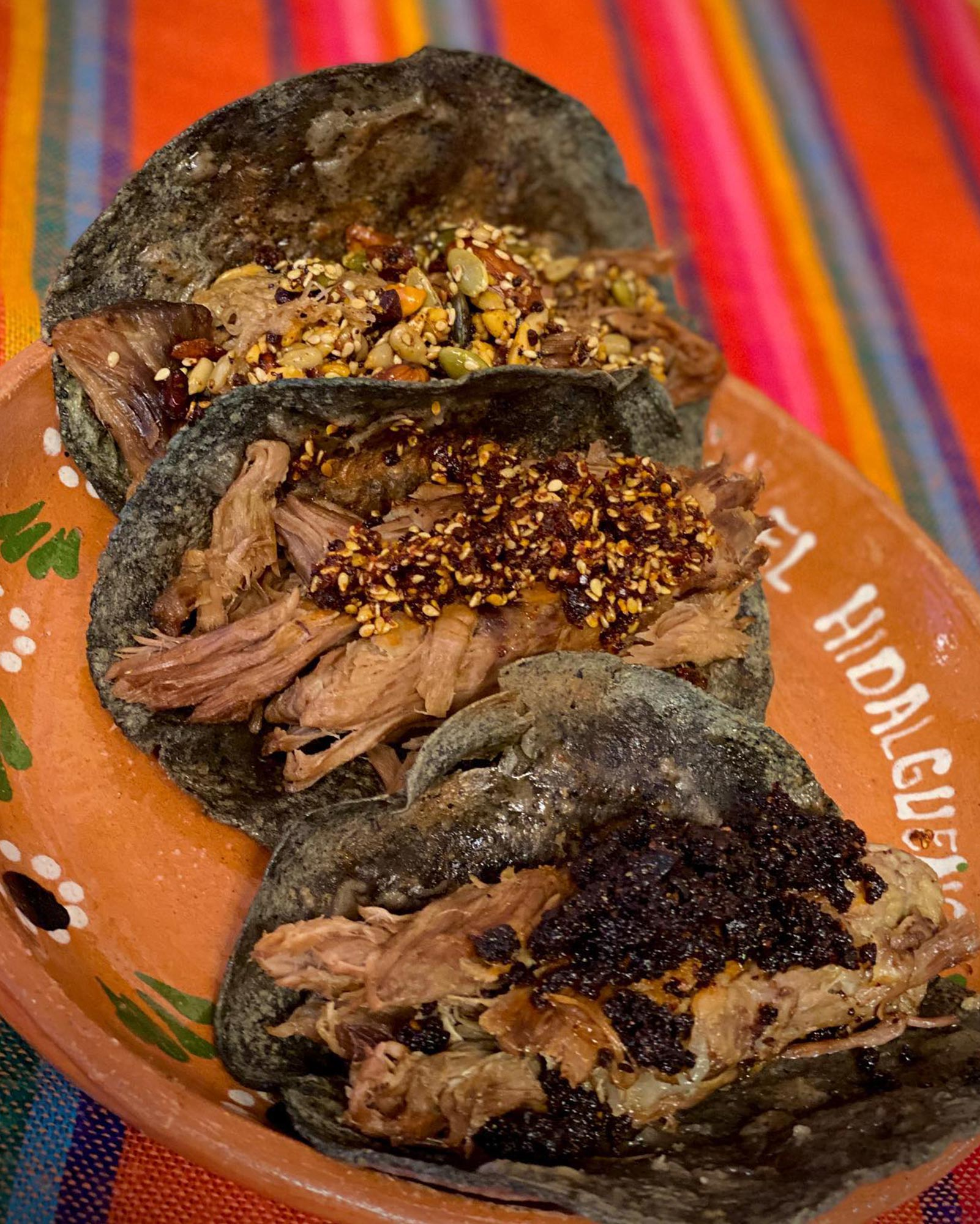 Barbacoa Tacos at El Hidalguense in Mexico City