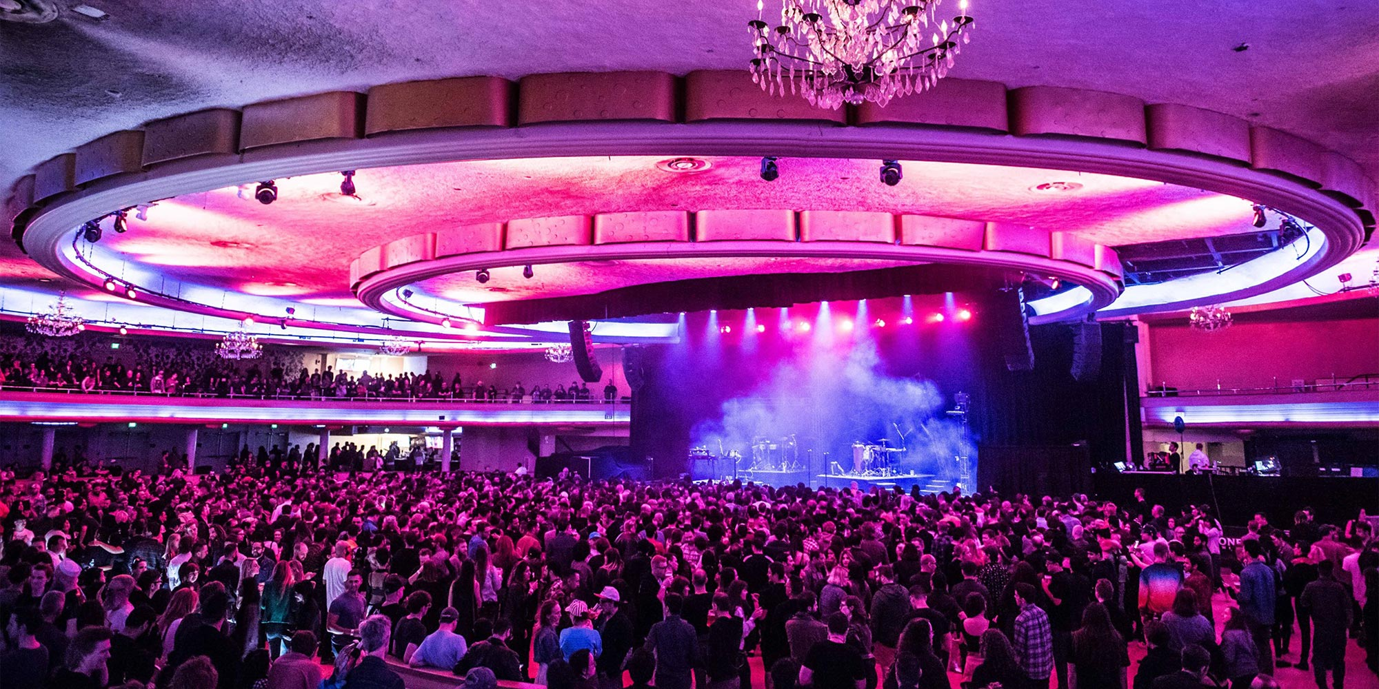 Hollywood Palladium for live music in Los Angeles, California.