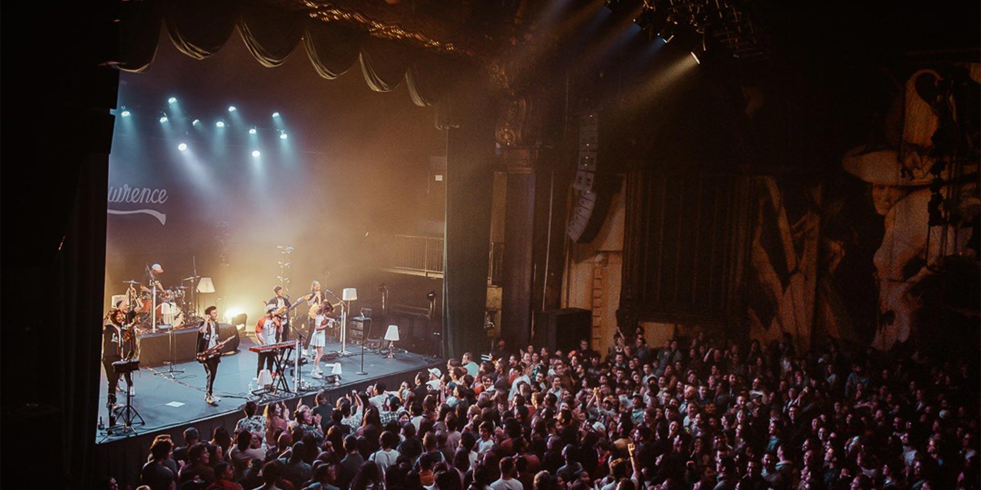 The Fonda Theatre for live music in Los Angeles, California.