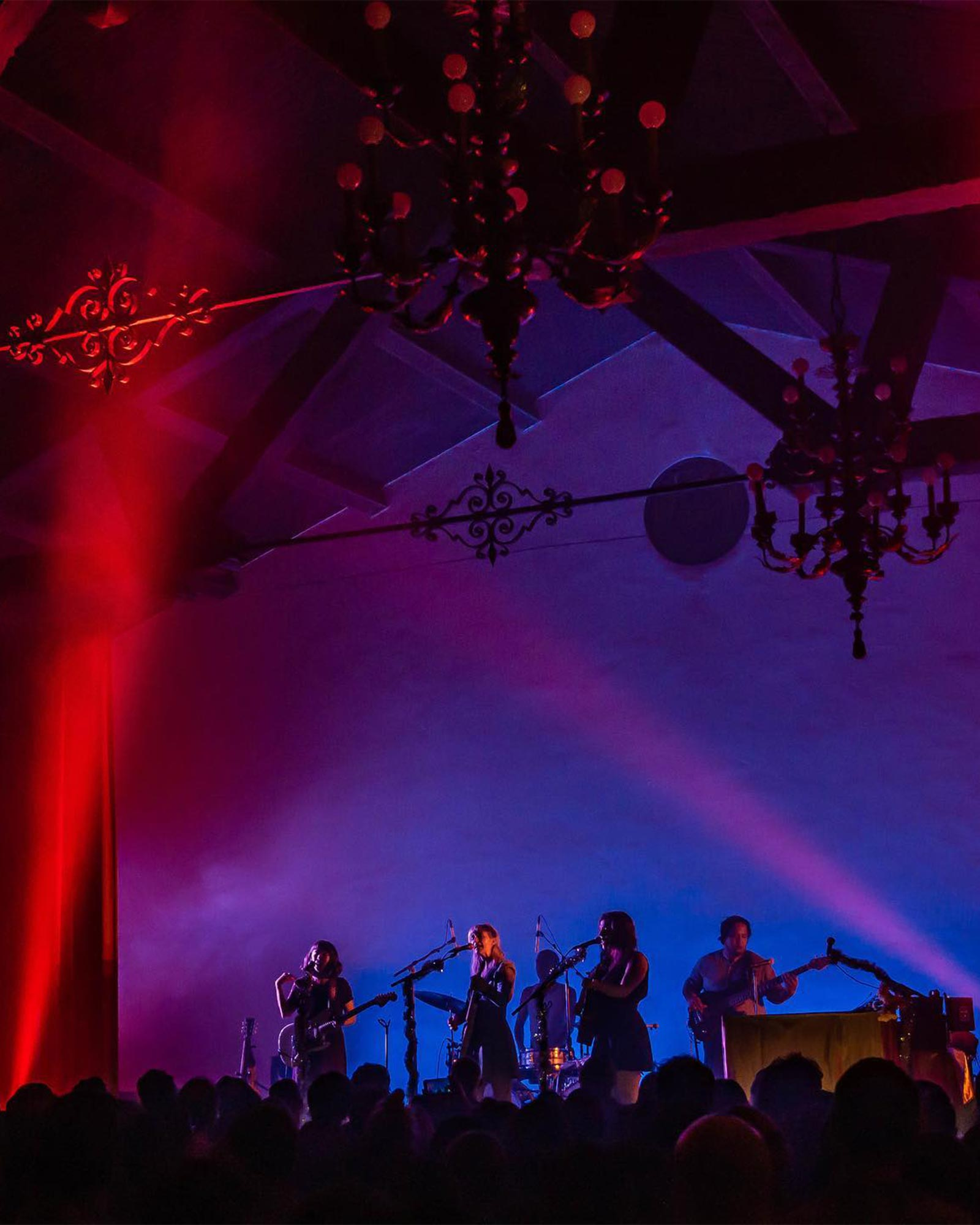 Hollywood Forever Cemetery which doubles as a live music venue in Los Angeles.