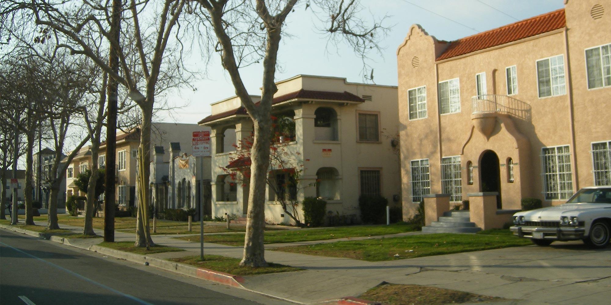 Leimert Park in South Los Angeles.